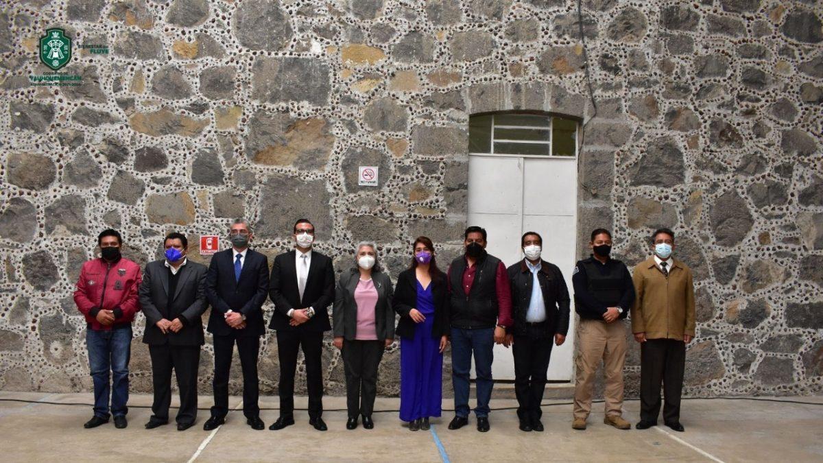 Instalan el Consejo Municipal de Seguridad del Ayuntamiento de Yauhquemehcan