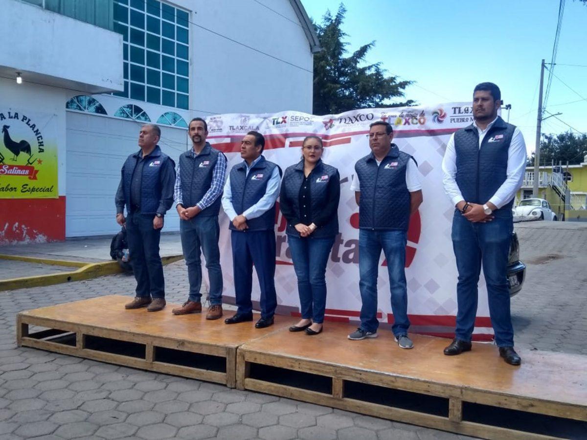 """FORTALECE SEPOL CAMPAÑA """"BÁJALE 2 RAYITAS"""" EN TLAXCO"""