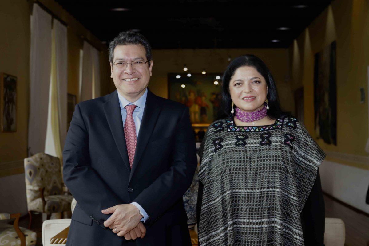 CERVANTINO EN TLAXCALA; PRESENTAN PROGRAMA  ALEJANDRA FRAUSTO Y MARCO MENA