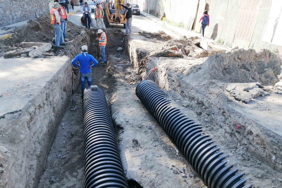 INICIA SECODUVI CONSTRUCCIÓN DE DRENAJE  PLUVIAL Y SANITARIO EN LA CAPITAL DEL ESTADO