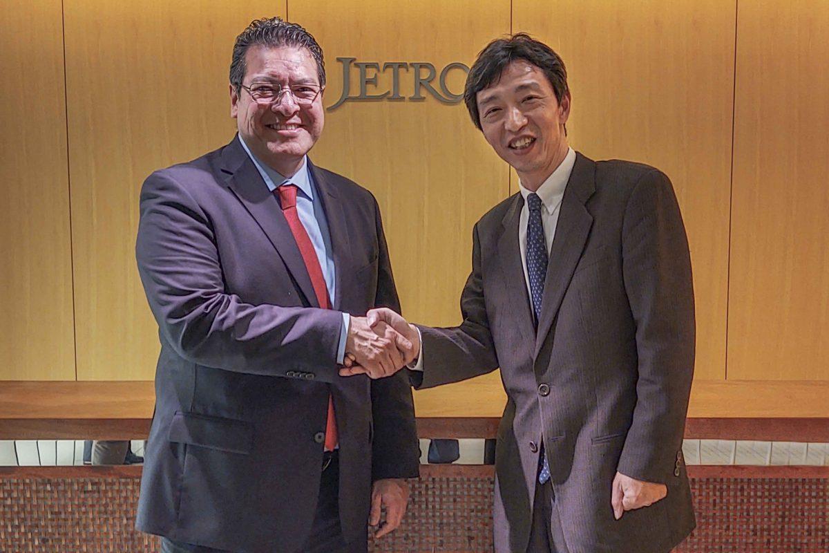 PROMUEVE MARCO MENA A TLAXCALA CON LA  ORGANIZACIÓN DE COMERCIO EXTERIOR DE JAPÓN