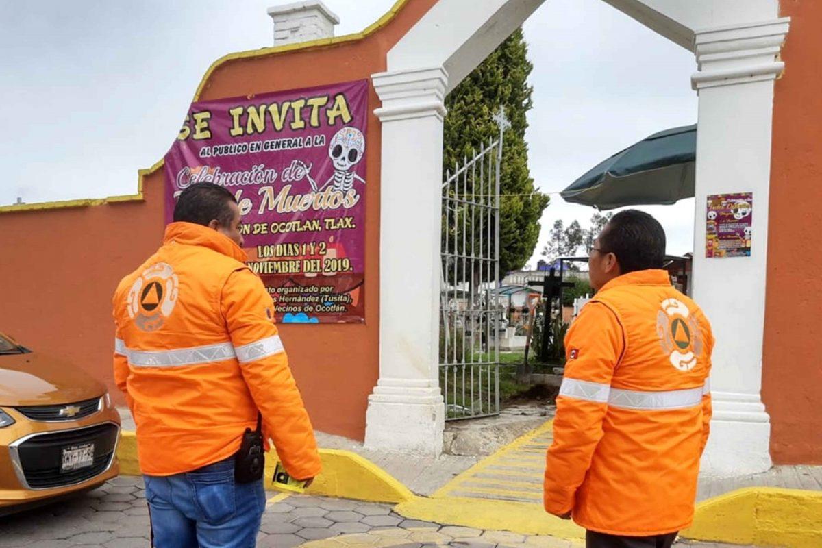 IMPLEMENTA CEPC OPERATIVO ESPECIAL  EN CEMENTERIOS POR DÍA DE MUERTOS