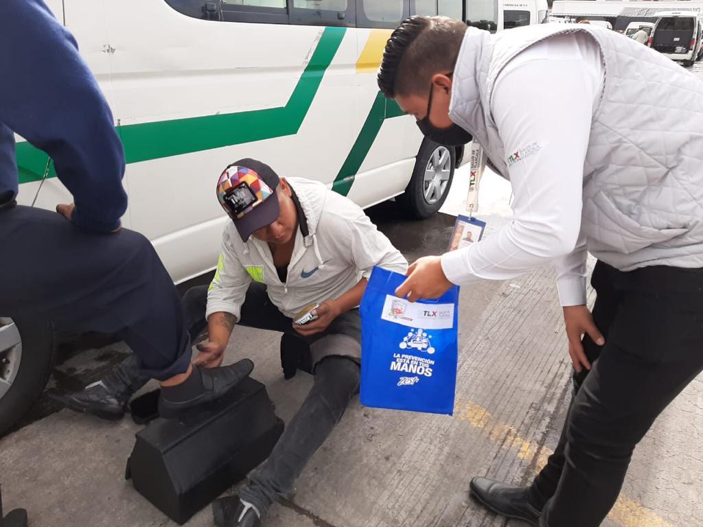 ENTREGA SESA EQUIPO DE PROTECCIÓN A COMERCIANTES,  PERSONAS EN SITUACIÓN DE CALLE Y GRUPOS VULNERABLES