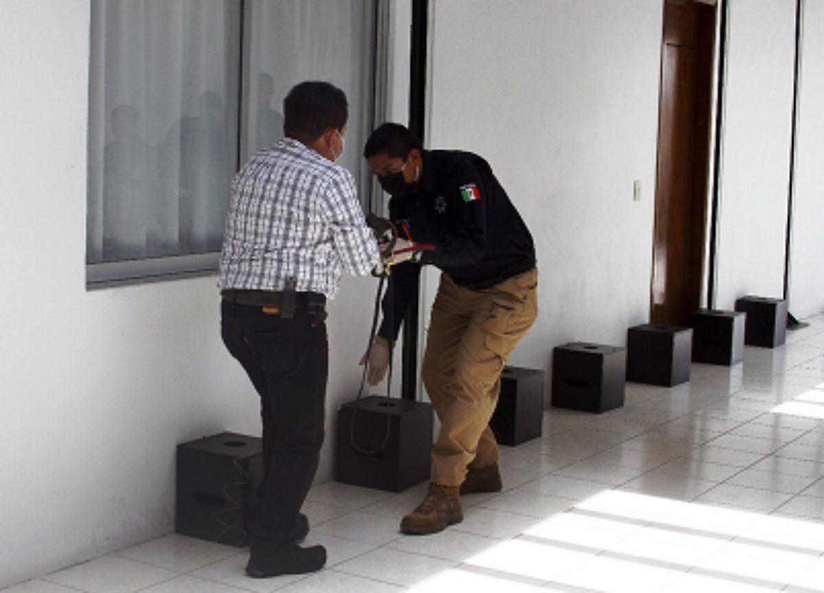 """SE IMPARTE EL CURSO """"TÉCNICAS Y MANEJO DE PERROS DETECTORES"""" A LA UNIDAD CANINA K-9"""