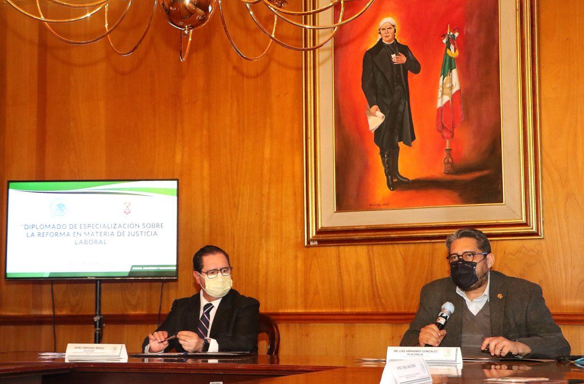 Reafirma UATx colaboración académica con el Tribunal Superior de Justicia