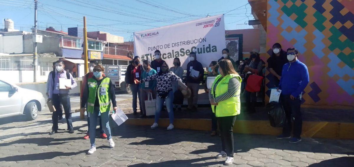 """Participa la Uptx con 70 voluntarios en las Brigadas """"Tlaxcala se cuida"""""""