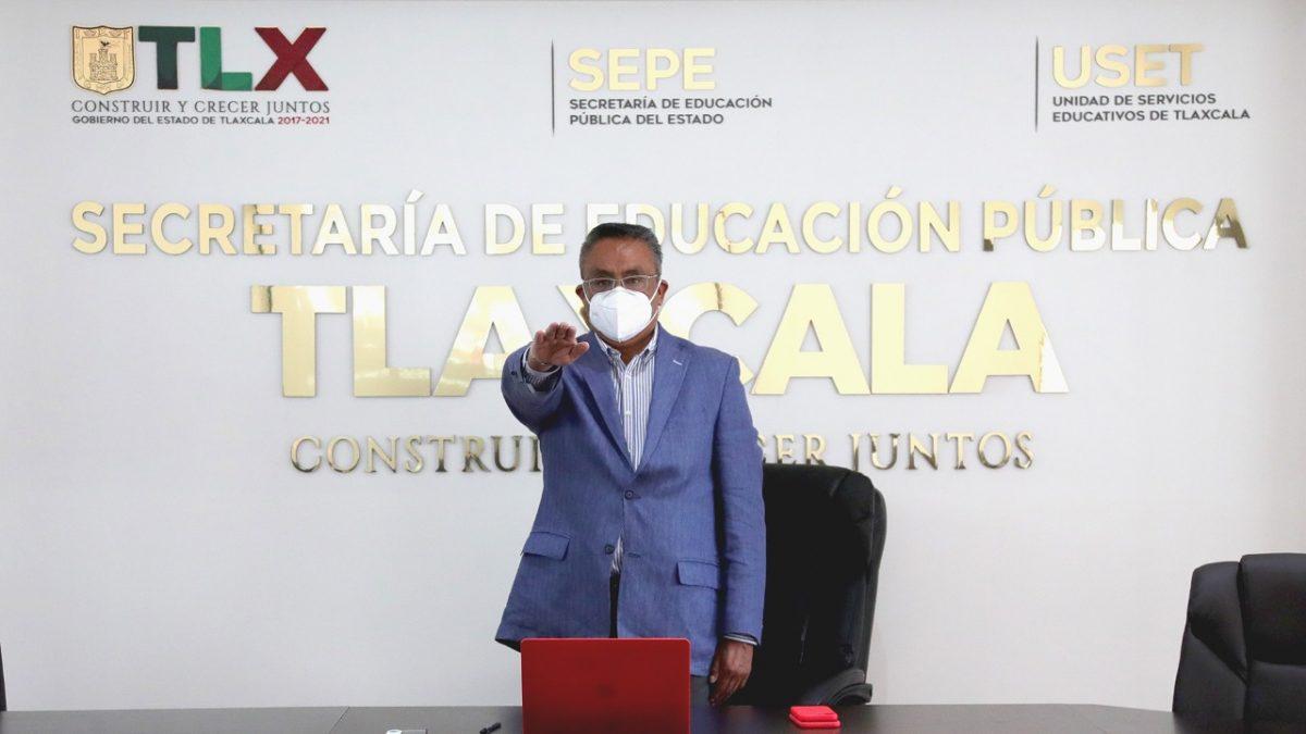 El Secretario de Educación Pública del Estado, Roberto Lima Morales, rindió protesta como integrante del Consejo Estatal Contra la Trata de Personas.