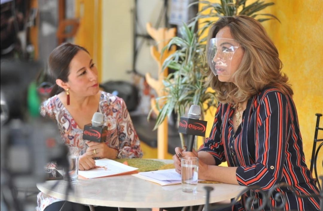 """Entrevista """"Sin Filtros ' con la candidata a la gubernatura, Eréndira Jiménez por el partido Movimiento Ciudadano."""