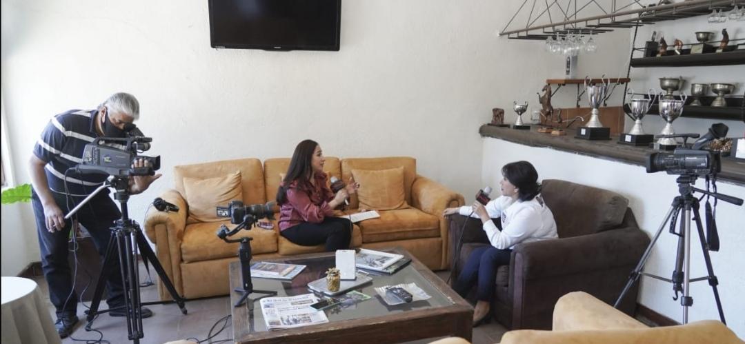 """Entrevista """"Sin Filtros""""  con la candidata a la gubernatura por la coalición """"Unidos por Tlaxcala"""" Anabell Ávalos."""
