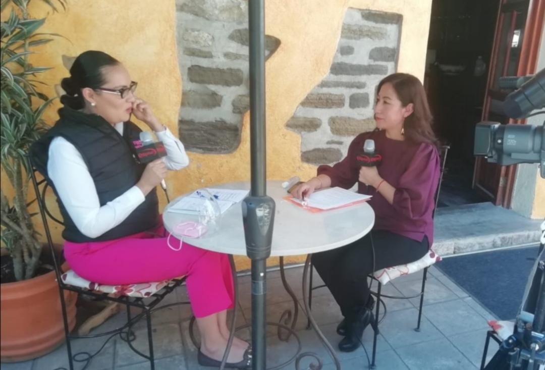 """Entrevista """"Sin Filtros  con la candidata a la gubernatura Viviana Barbosa Bonola por el partido Fuerza por México."""