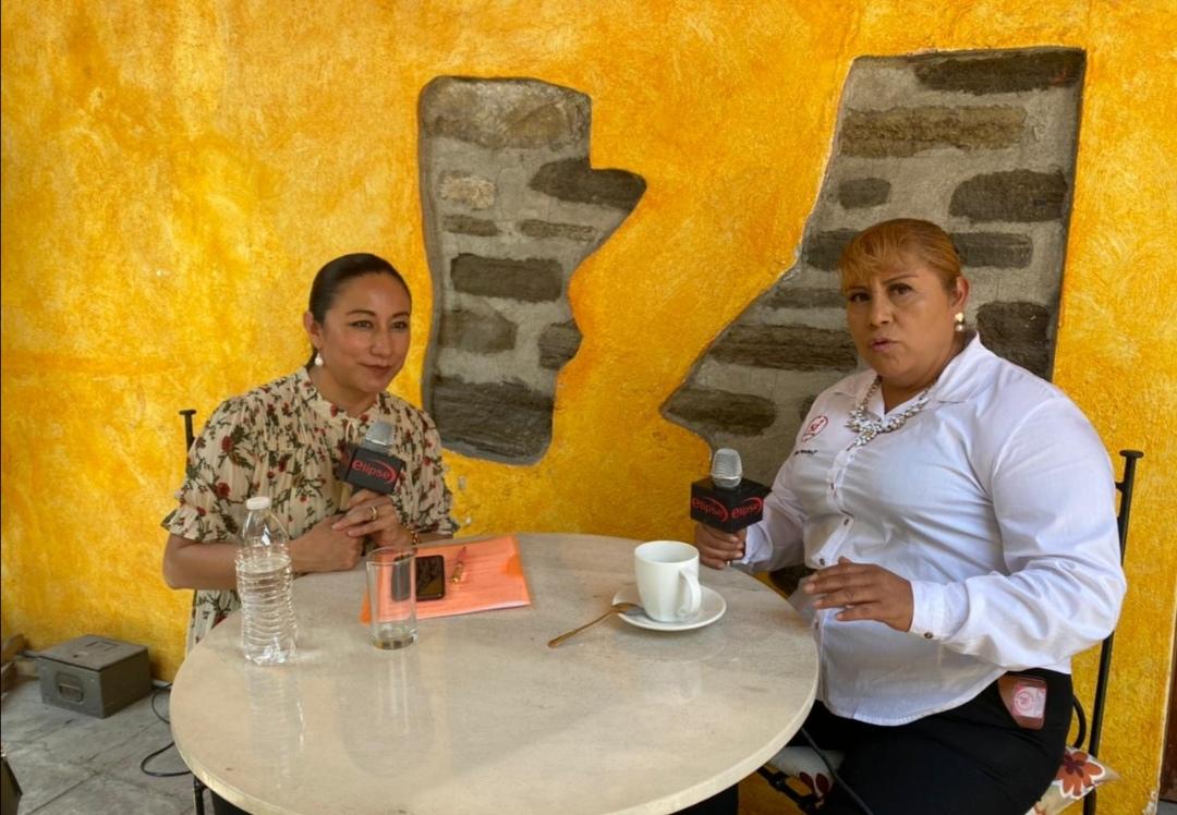 """La Entrevista""""SIN FILTROS"""" con la candidata a la gubernatura Evangelina Paredes del partido Impacto Social."""