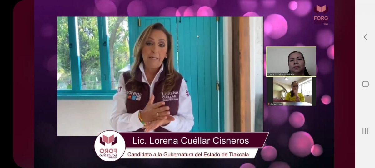 Alta participación ha alcanzado el Foro Educativo convocado por Lorena Cuéllar