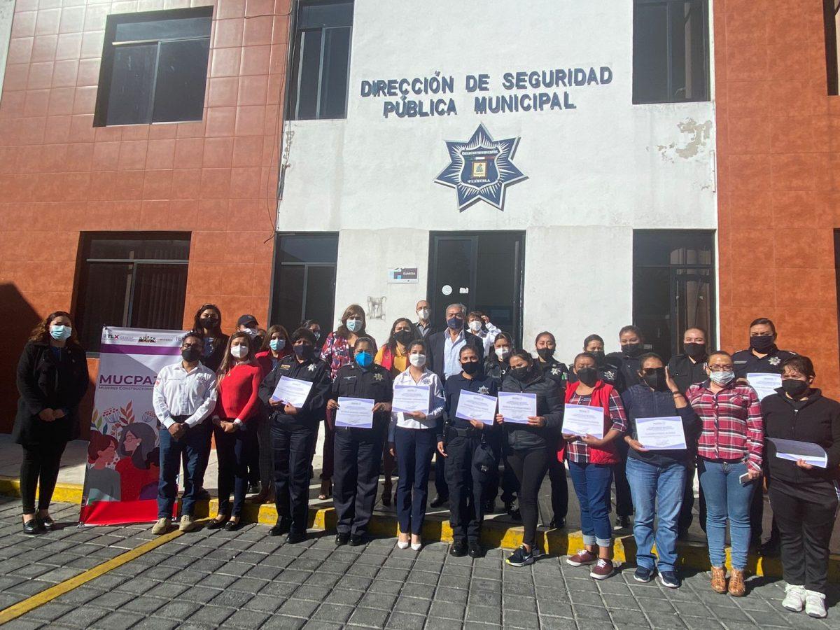 """Imparte plática MUCPAZ a mujeres policías de la capital sobre """"Género y Prevención de la Violencia"""""""