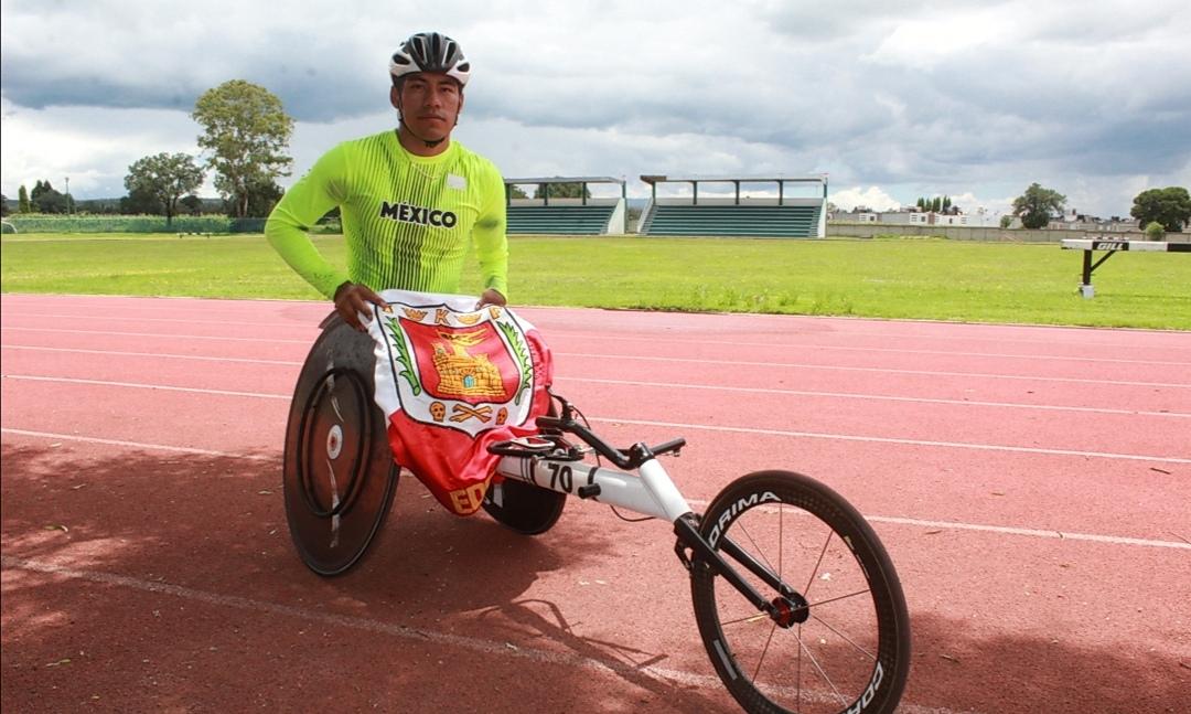 Se reporta listo Leonardo de Jesús para sus terceros Juegos Paralímpicos