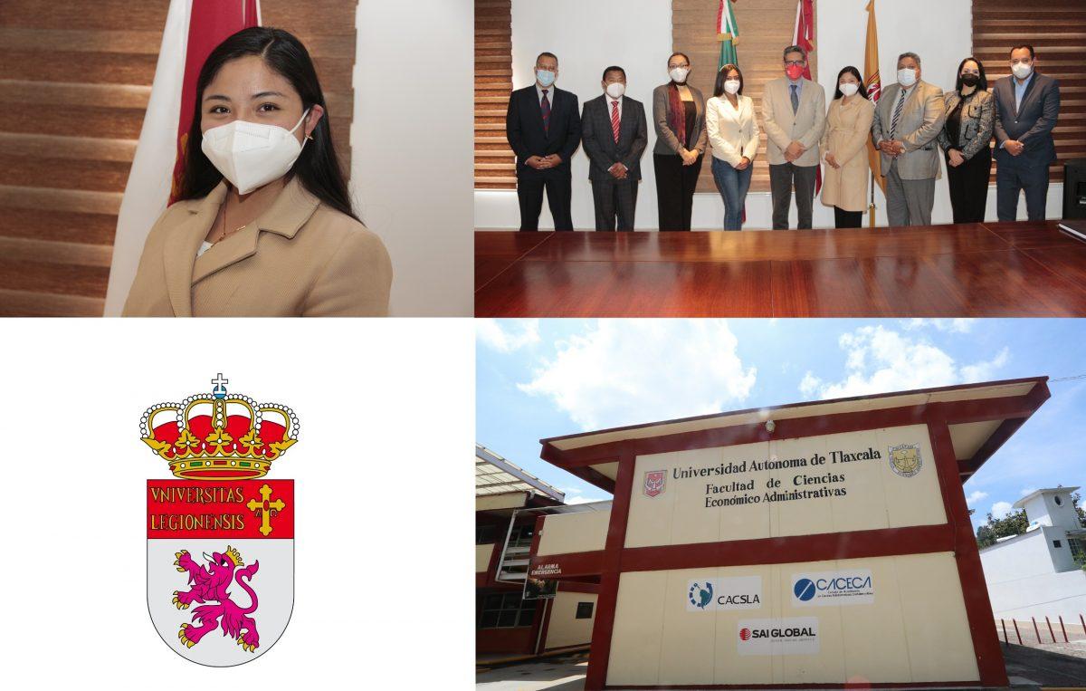 Registra UATx primera doble titulaciónEn conjunto con la Universidad de León, España