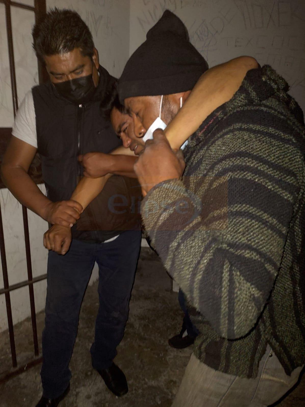 Acusan a la policía municipal de Zacatelco de tortura, lesiones y privación ilegal de la libertad.